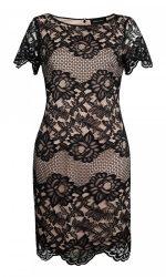 Elegant en stijlvolle effen kleurige jurk