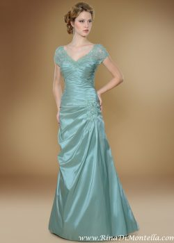 Bruidsjurk gekleurd Rina Di Montella